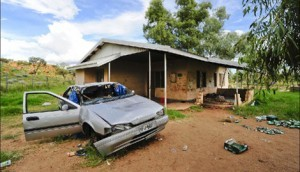 Aboriginal housing in Alice Springs