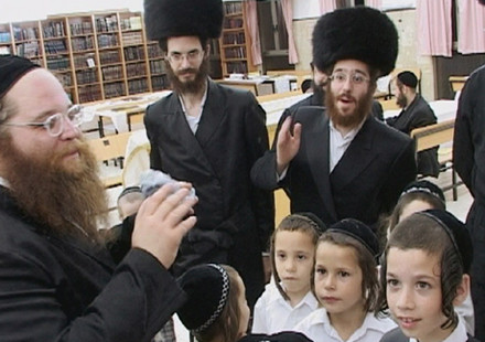 Orthodox Jewish habits of mind are inculcated from an early age
