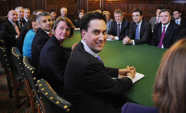 "Party of Hate: Labour leader Ed ""The Marxist"" Miliband and his shadow Labour cabinet (2013)"