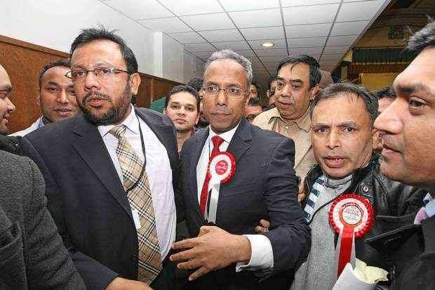 Lutfur Rahman (centre): Turning Britain into Bangladesh