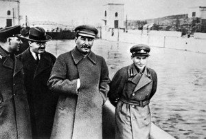 Stalin with Yezhov