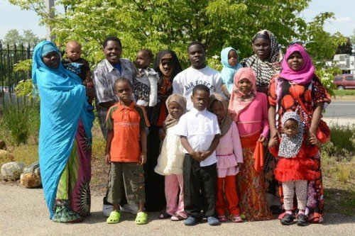 Congolese family in Springfield, MA