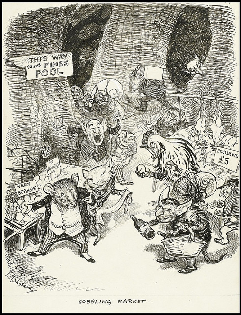"""Gobbling Market"" (1942): based on reality?"