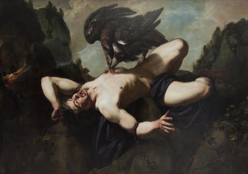 Prometheus by Theodoor Rombouts (1597–1637)