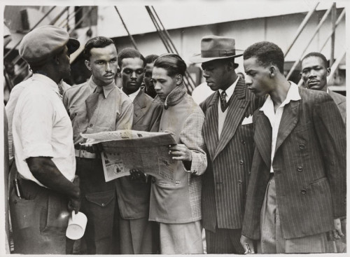 The Beginning of the End: Jamaican Blacks disembark from the Empire Windrush