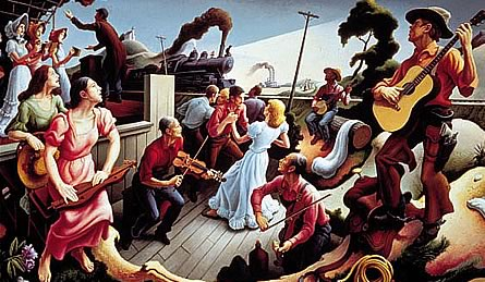 "Thomas Hart Benton: From His ""The Sources of Country Music"" Series"