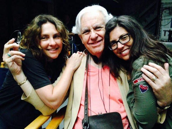 "Jill and Faith Soloway with their ""mapa"""