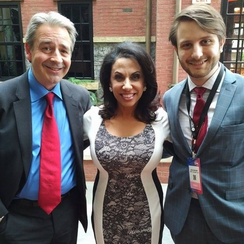 Buckby and Weston with Zionist Brigitte Gabriel at CPAC-2016