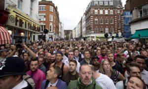 Spot the Muslim: LGBTQ mourners in London