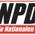 Das Logo der Nationaldemokratischen Partei Deutschlands - NPD, 2005