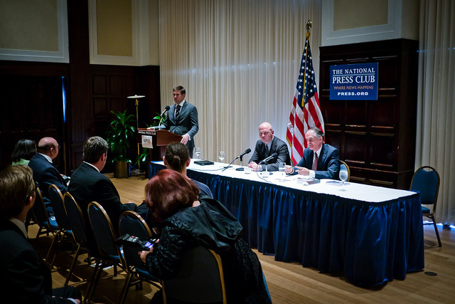 Richard Spencer, James Edwards, Jared Taylor, National Press Club