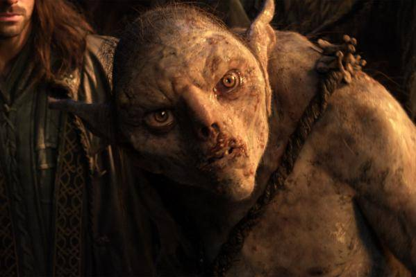 Light skinned orc from The Hobbit