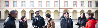 Students at the University of Siegen, Germany