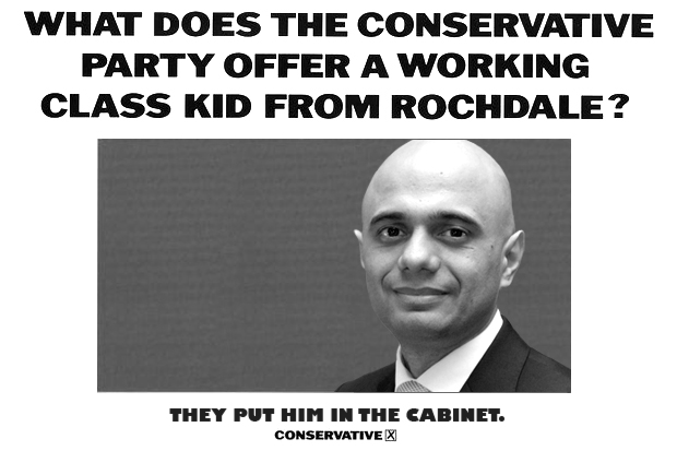 Javid is from Rochdale, home of Pakistani gang-rapists