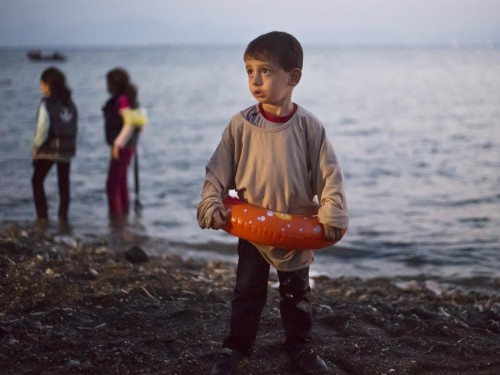 A typical refugee: Little Orphan Ahmed
