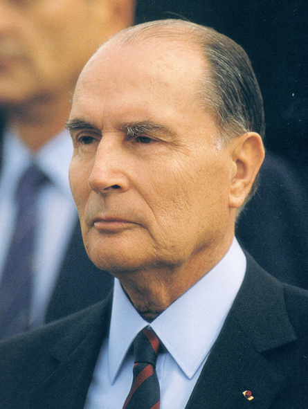 "French President François Mitterrand spoke of ""a powerful and harmful Jewish lobby"""
