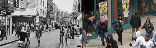 London: Before and After the Racial Revolution was imposed from above