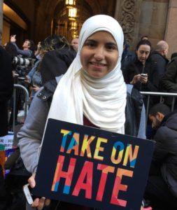 Anti-Trump Muslima