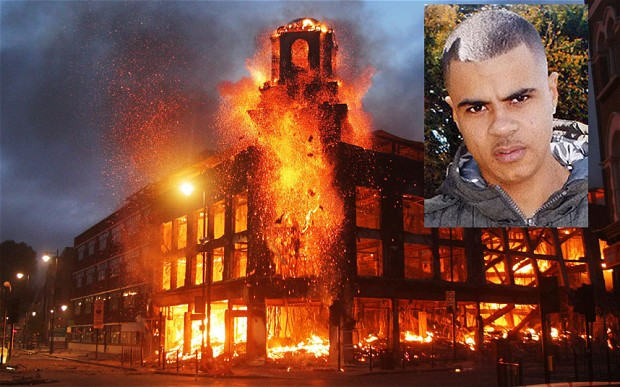 London riots and Mark Duggan