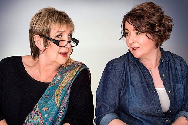 Myopic matriarchs Jenni Murray and Jane Garvey of Woman's Hour