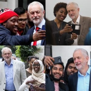 The System at work #2: Jeremy Corbyn with non-Whites