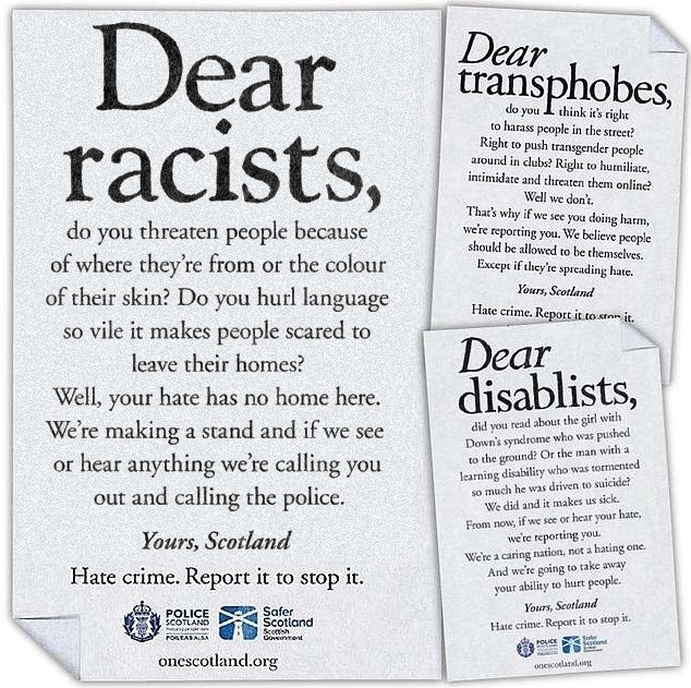 """Dear Haters"" — cultural Marxists attack Scottish Whites"