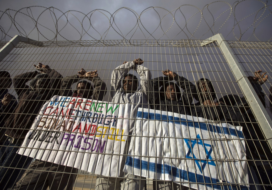 Israel rejects enrichment: Blacks vainly seek asylum