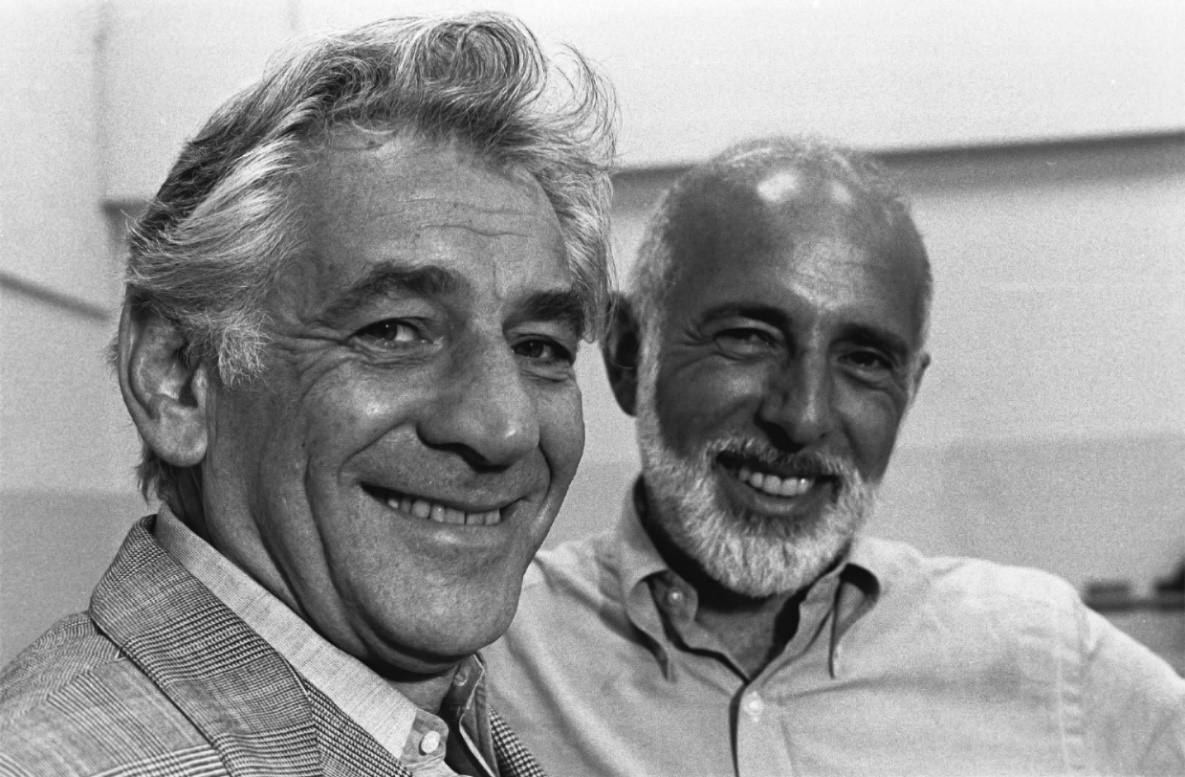 Leonard Bernstein and Jerome Robbins