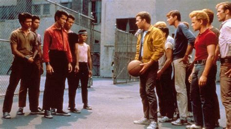 Scene from the 1961 movie version of West Side Story