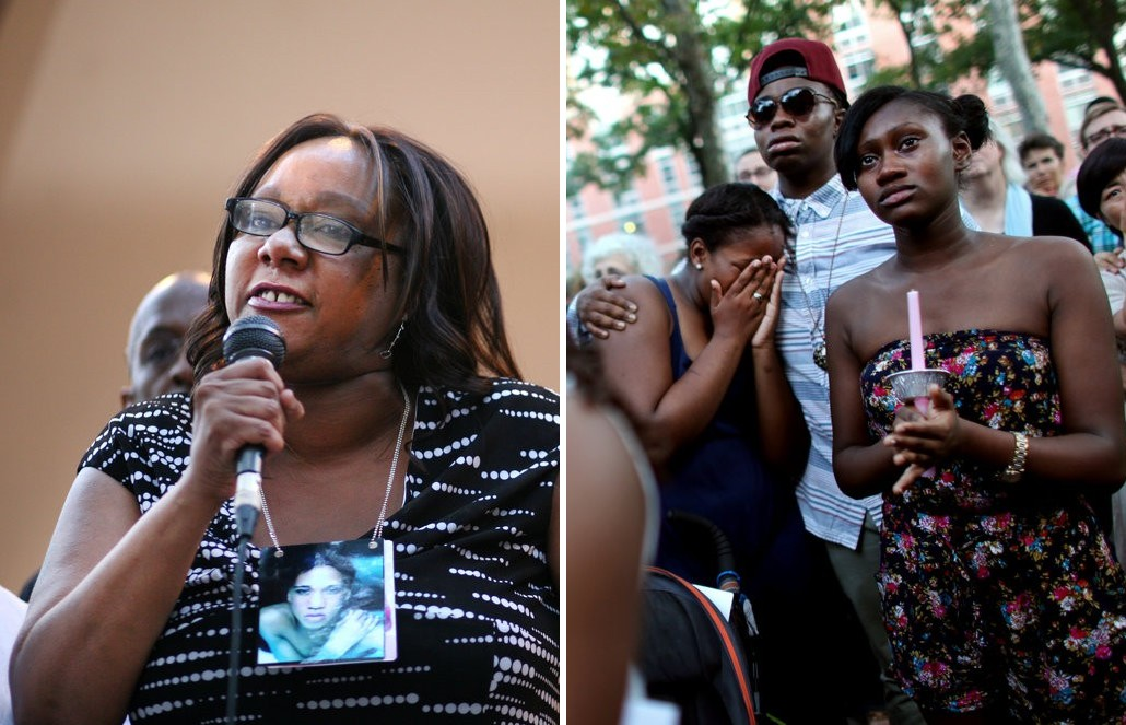 Fit to Print for the NYT: Vaughn Nettles' mother and supporters