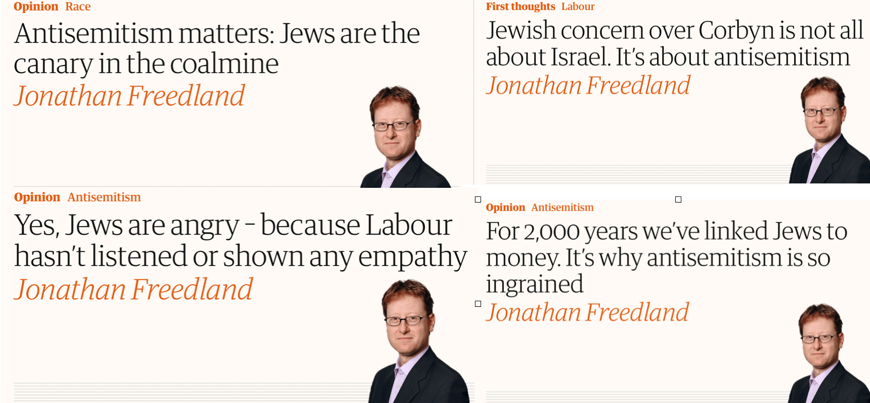 Jonathan Freedland: A Creature of Habit