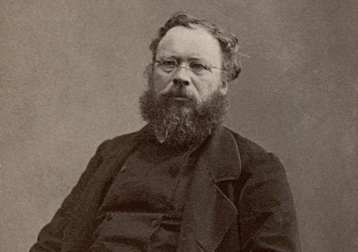 "Pierre-Joseph Proudhon: ""Marx is the tapeworm of socialism."""