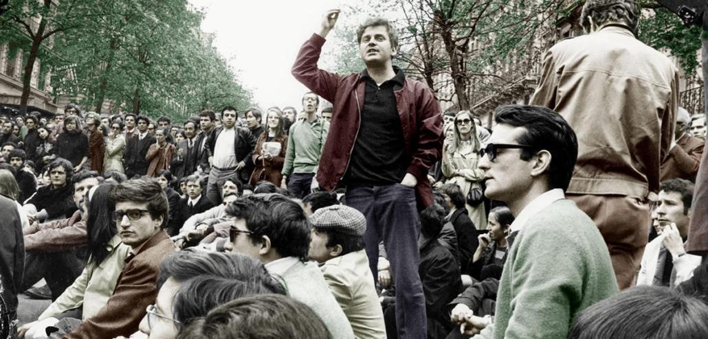 Daniel Cohn-Bendit in 1968