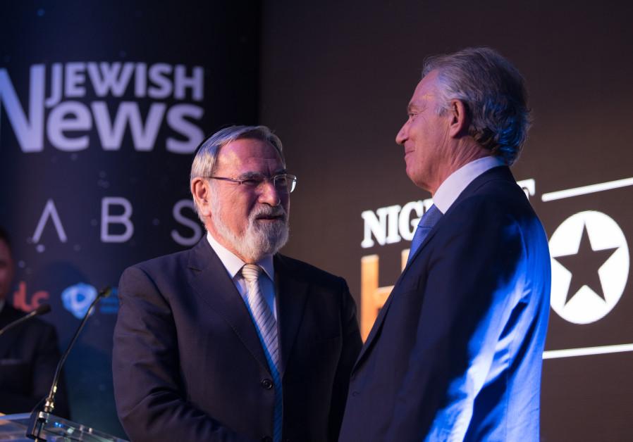"Smirk Makes Free #1: That ""True Friend of the Jewish community"" Tony Blair"