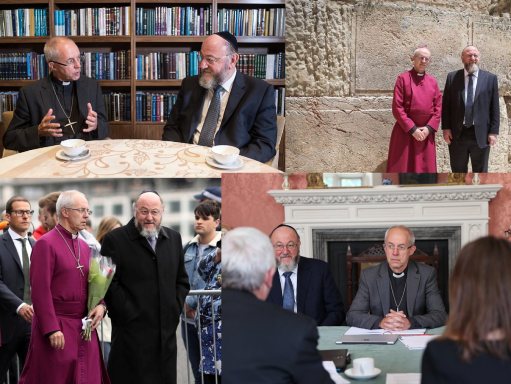 Archbishop Welby/Weiler/Browne: In need of a Jewish father figure