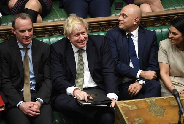 Kosher Kabinet: Jewish Dominic Raab, Jewish-Turkish Boris Johnson, Pakistani Muslim Sajid Javid, Indian Hindu Priti Patel