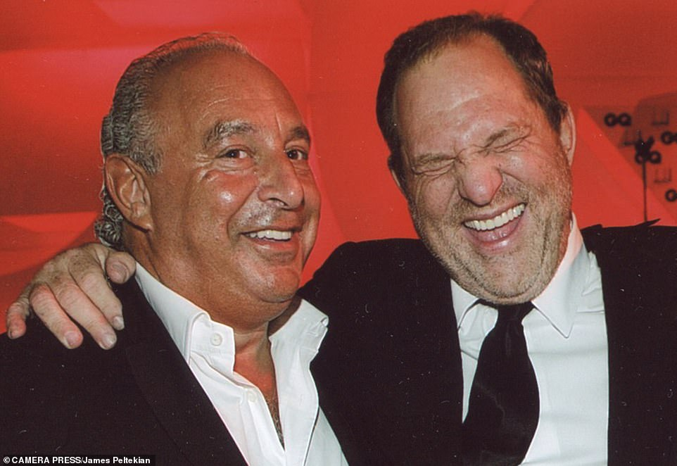 Two Jewish predators: Philip Green and Harvey Weinstein