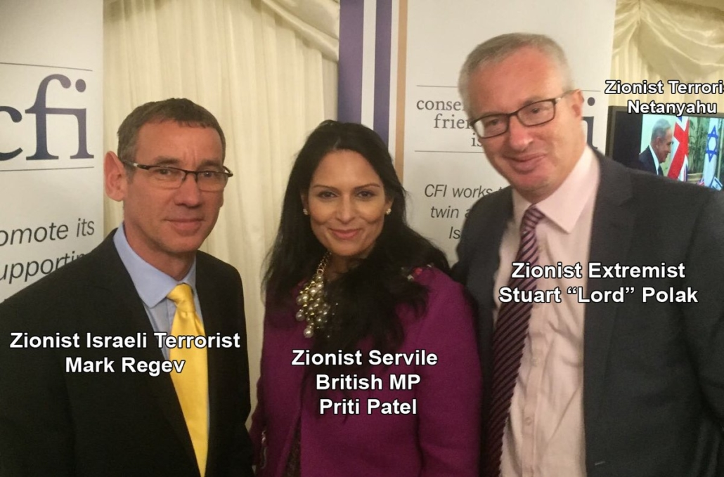 Lord Polack at Conservative Friends of Israel