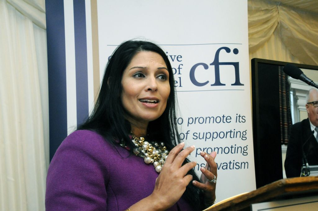 Priti Patel pleads for power at Conservative Friends of Israel
