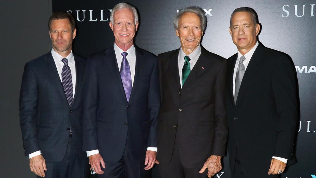 Eckhart, Capt. Sullenberger, Eastwood and Hanks
