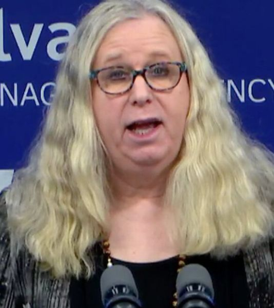 Fake woman Richard Levine, Jewish Assistant Health Secretary