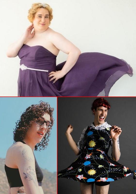 Fake women Jessica Yaniv (above) and Eliana Rubin