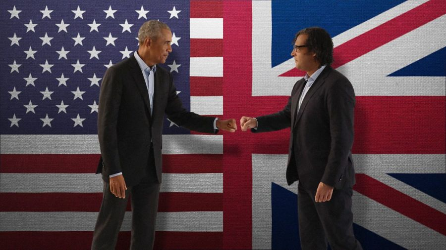 Meeting of Mediocrities: Barack Obama and David Olusoga