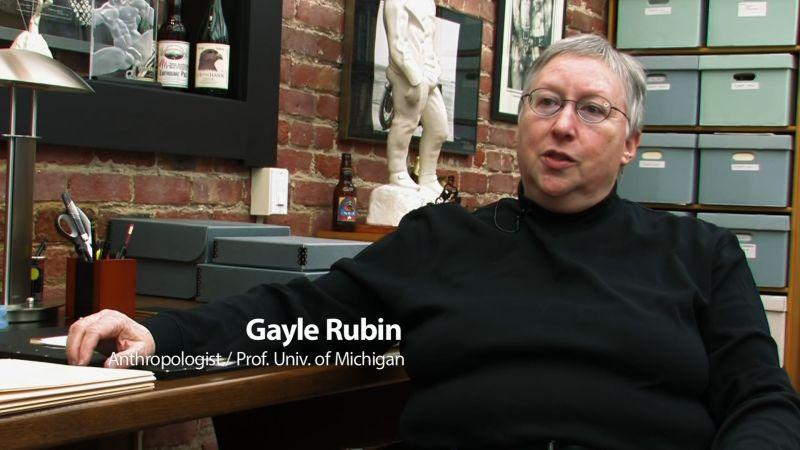 Porn-positive pedo-pushing Professor Gayle Rubin