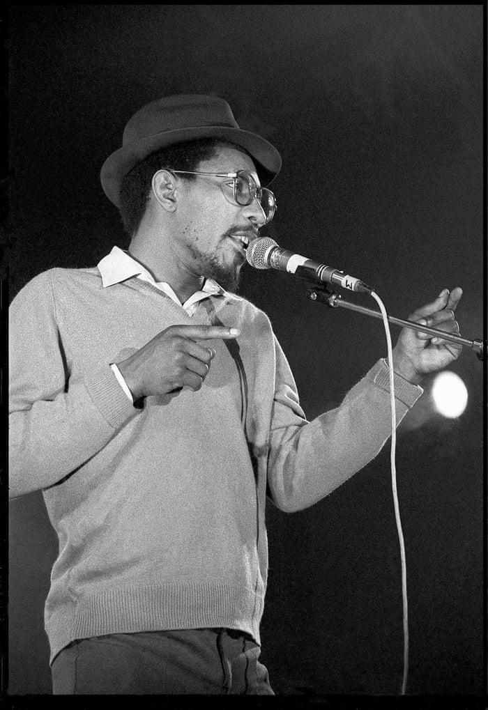 The talentless and unintelligent Linton Kwesi Johnson