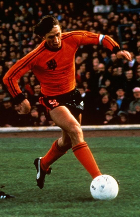 Dutch soccer super-star Johan Cruyff