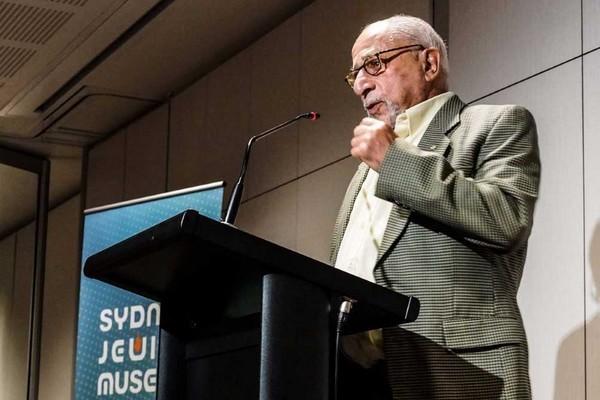 Jewish intellectual activist Colin Tatz