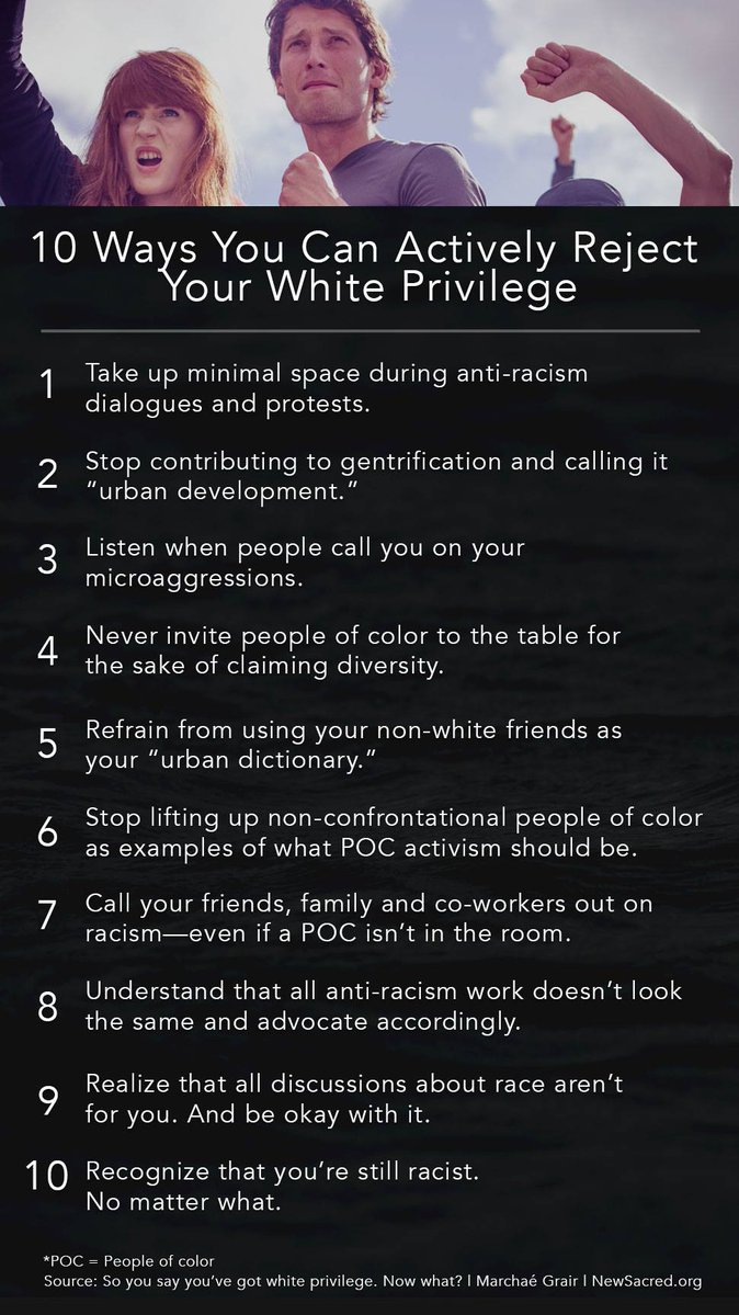"""Anti-racism is the Church of the Damned: Whites are racist """"no matter what"""" (see rule 10)"""
