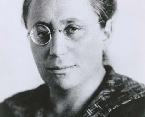 Genuine Jewish genius Emmy Noether